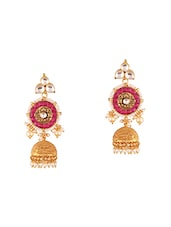 multi brass drop earring -  online shopping for earrings