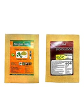 Shagun Gold Brown Hair Color With Natural Henna 200Gm X 2 - By