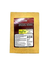 Shagun Gold Hair Colour Brown One Time Use (Set Of 4) 100gm - By