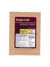 Shagun Gold Hair Colour Burgundy Henna 200g - By