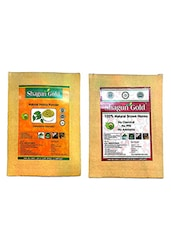Shagun Gold Brown Hair Color With Natural Henna Powder With Hair 100G (Pack Of 4) - By