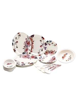 Roni Wares Melamine Pack of 32 Dinner Set