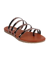 copper one toe  sandal -  online shopping for sandals