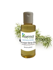 KAZIMA Juniper Berry Essential Oil (200ML) 100% Pure Natural & Undiluted For Skin Care & Hair Treatment - By