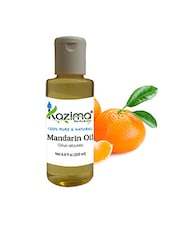 KAZIMA Mandarin (Orange) Essential Oil (200ML) 100% Pure Natural & Undiluted For Skin Care & Hair Treatment - By
