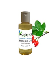 KAZIMA Rosehip Cold Pressed Carrier Oil (200ML) 100% Pure Natural & Undiluted For Skin Care & Hair Treatment - By