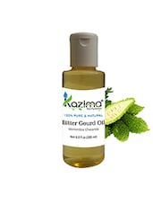 KAZIMA Bitter Gourd Cold Pressed Carrier Oil (200ML) 100% Pure Natural & Undiluted For Skin Care & Hair Treatment - By