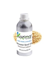 KAZIMA Sesame Seed Cold Pressed Carrier Oil (300ML) 100% Pure Natural & Undiluted For Skin Care & Hair Treatment - By