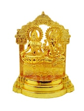 Decorate India gold platted LAxmi ganesh god idols -  online shopping for Figurines