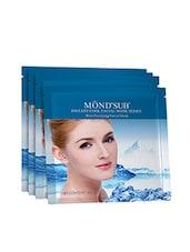 MONDSUB Pore Purifying Cool Facial Mask Sheet (Pack Of 4 X 30g) - By