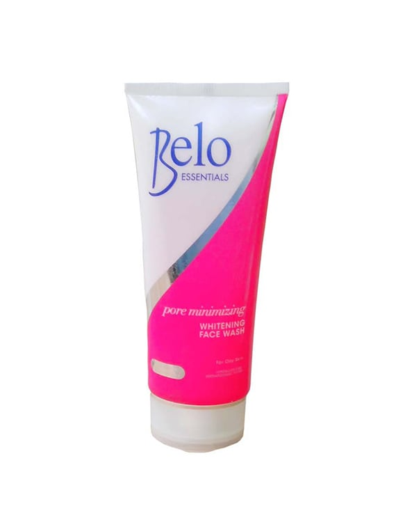 Belo Essentials Herbal Pore Minimizing Whitening Face Wash - By
