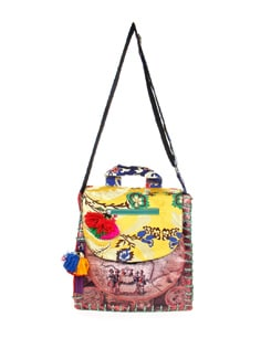 Multi Print And Pattern Bag - The House Of Tara