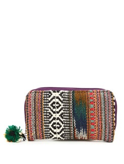 Black, Red And Brown Wallet - The House Of Tara