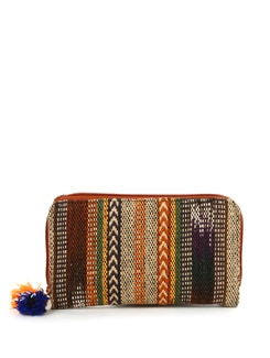 Brown Hand-woven Wallet - The House Of Tara
