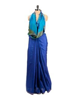 Raw Silk Woven Saree - Saboo