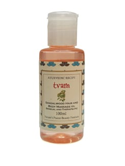 Massage Oil - Sandalwood - Tvam