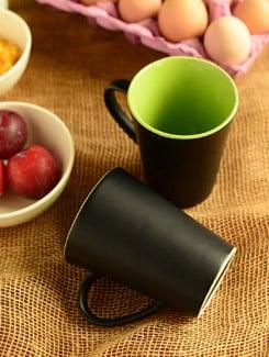 Two Tone Mug Set Of 2 - Habitation