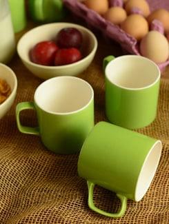 Basic Tea Mugs-set Of 6 - Habitation