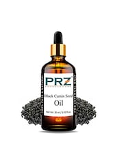 PRZ Black Cumin Seed (Kalonji Oil) Carrier Oil (30ML) - Pure Natural For Aromatherapy Body Massage, Skin & Hair Care - By