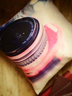 Pink Camera Cushion Cover - Yolo By Spread