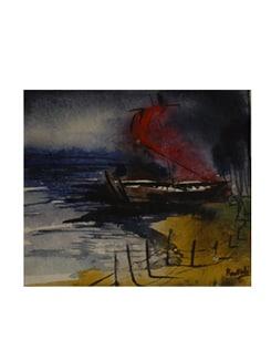 Seascape By Pousali Das (Archival Quality Art Print) - Artfairie