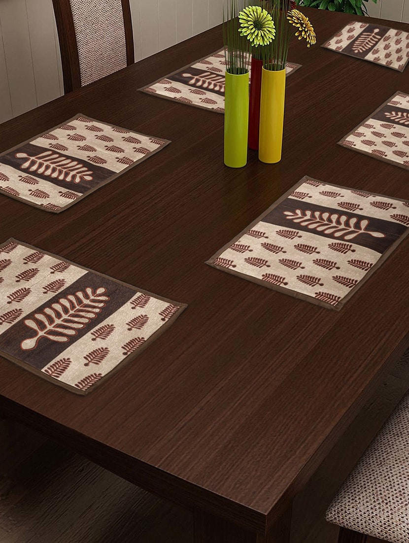 Dinner Table Mat Set Of 2 - 30 Cm X 45 Cm - By