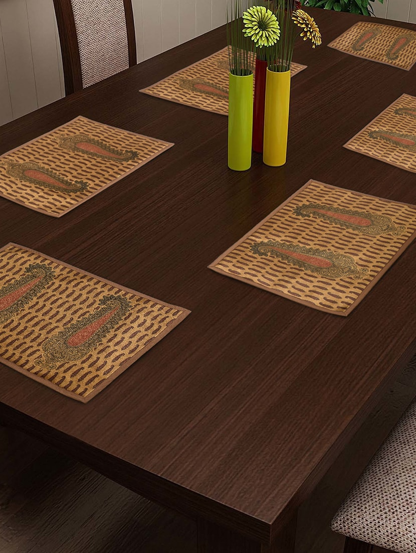 Dinner Table Mat Set Of 4 - 30 Cm X 45 Cm - By