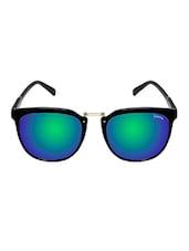 Cardon Green Wayfarer Mirrored & UV Protected Sunglass - By