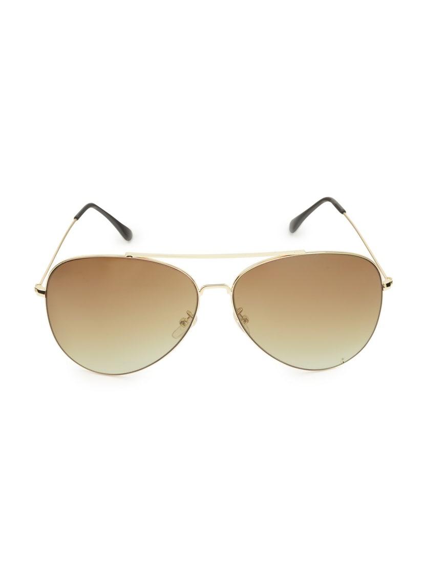 Get Glamr Unisex Aviator Sunglasses - By