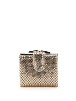 Gold Glomesh Purse - Forever  New