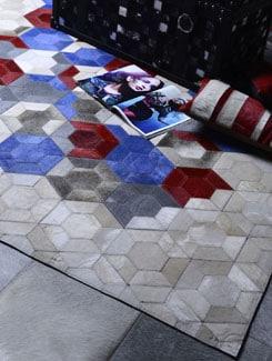 Stylish White Carpet - Lthr