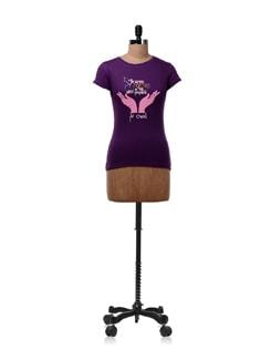 My Future' Purple T-shirt - OFFBEAT