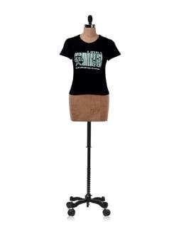 Black 'Libra' Zodiac T-shirt - OFFBEAT