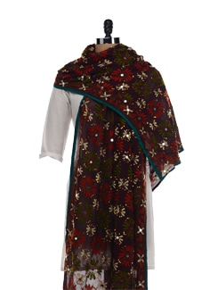 Beautiful Phulkari Dupatta - Vayana