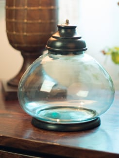 Glass Jar With Lid - ANUVA