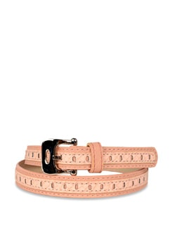 Stylish Powder Pink Belt - Carlton London