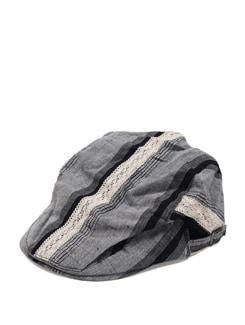 Grey Printed Cap - Addons