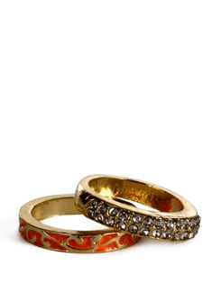 gold rings - set of 2 - Addons