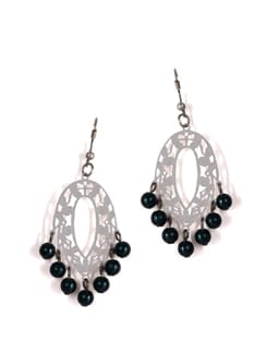 White Danglers With Green Drops - Addons