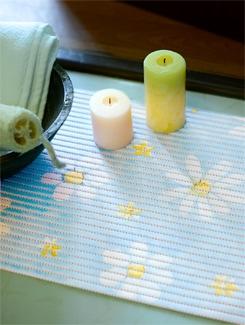 Flower Print Anti-slip Mat - Freelance