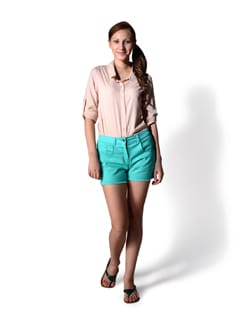 Mint Green Shorts - MARTINI
