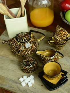 Heritage Tea Set - 15pcs - Cultural Concepts