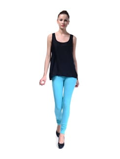 Aqua Blue Leggings - FUTURO