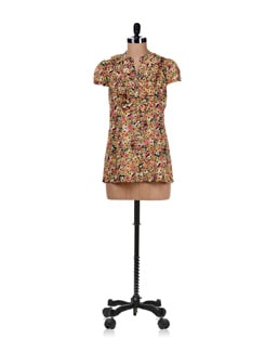 Front Open Multicolored Shirt - Ayaany