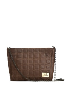 Brown Sling Bag - YELLOE