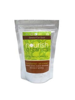Sprouted Flax Seeds* - Nourish Organics