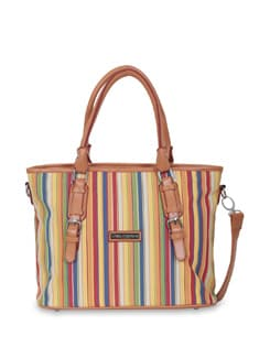 Multicoloured Striped Bag - Lino Perros