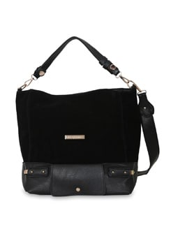 Black Oversized Bag - Lino Perros