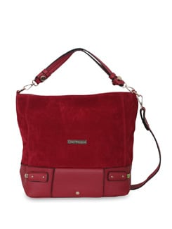 Red Oversized Bag - Lino Perros