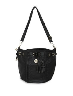 Black Shoulder Bag - Lino Perros